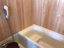 檜が香る風呂