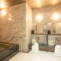 【1階浴場】洗い場(男湯)