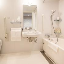【客室】バリアフリー/バスルーム