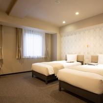 【客室】バリアフリー/ベッドルーム