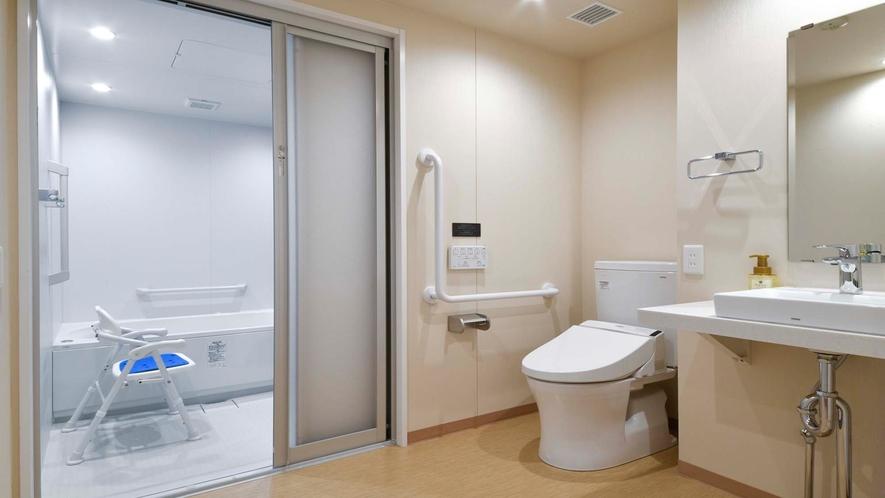 ユニバーサルルーム・洗面所