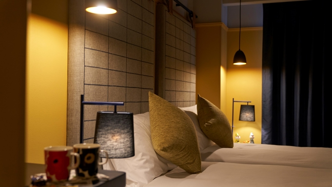 """〜Concept Plan """"北欧""""〜 【River View TwinRoom】【素泊】"""
