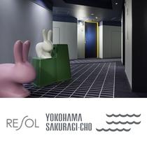 """エレベーターホール """"兎"""""""