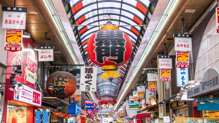 大阪観光【黒門市場】