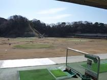 ■ゴルフ場 打席からの眺め
