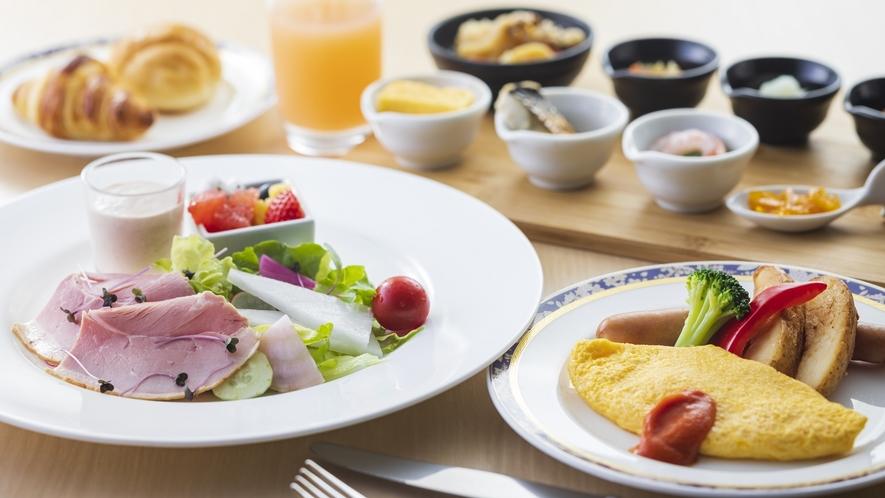 洋食プレート(朝食)