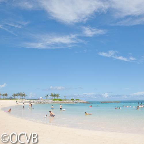 【エメラルドビーチ】「快水浴場百選」にも選ばれています。