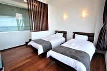 203号室 ベッド
