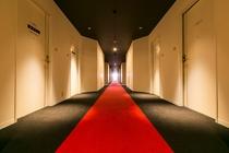 廊下(クラブハウス)