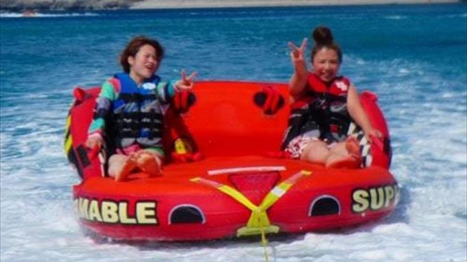 海を大満喫!!3種類のマリンアクティビティをリゾートで遊ぼう!【素泊り】