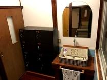 女性用ドミトリー洗面化粧台
