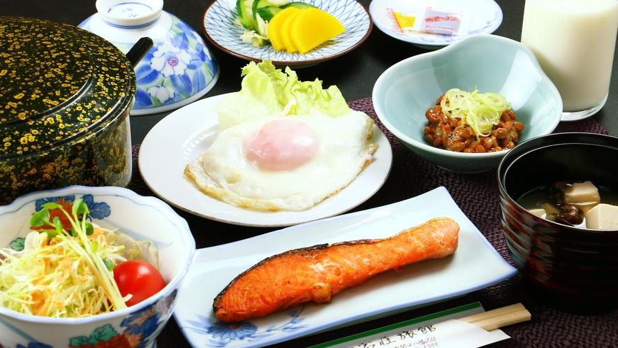 ■【朝食一例】バランスの良い和食をご用意しております♪今日も元気に!