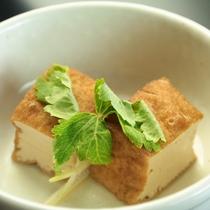 【朝食】厚揚げの煮物