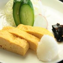 【朝食】厚焼き玉子