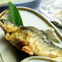 【鮎尽くし料理】あゆの塩焼き