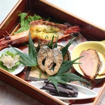 【夕食】前菜5種盛