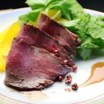 【夕食】ローストビーフ