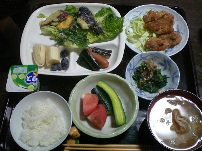 夕食(食事例)