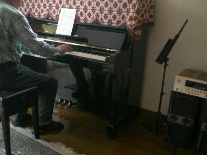 ピアノ練習1