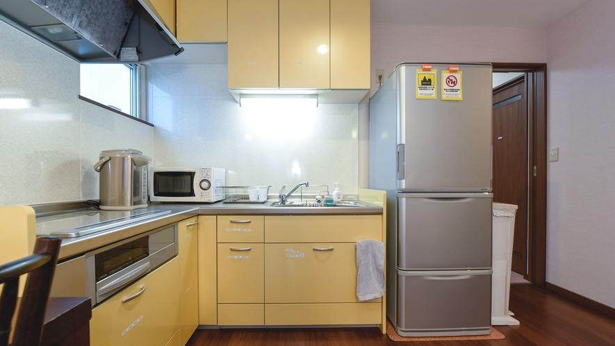 ・フルサイズのキッチンを完備