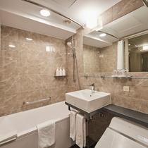ダブルルーム浴室(例)