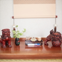 客室装飾品