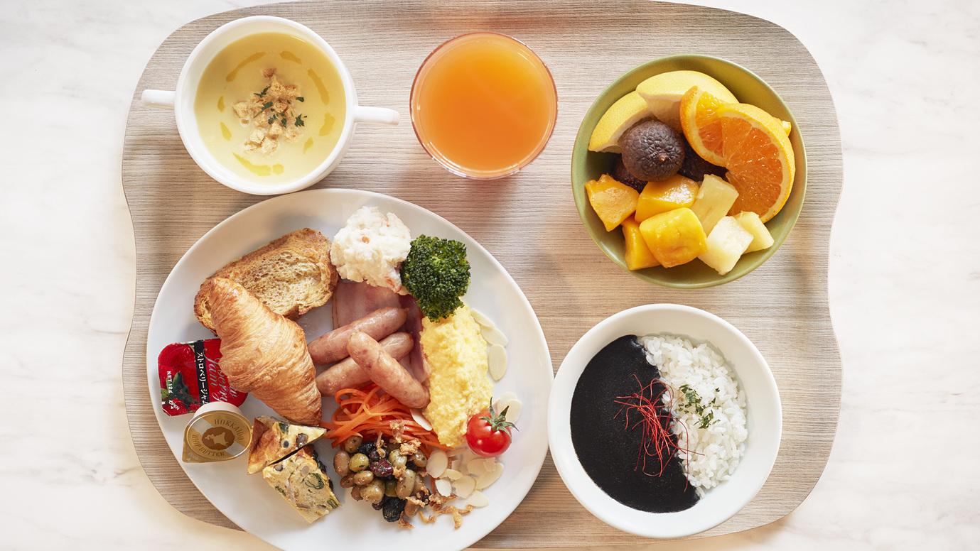 【朝食】1階レストラン(洋食)
