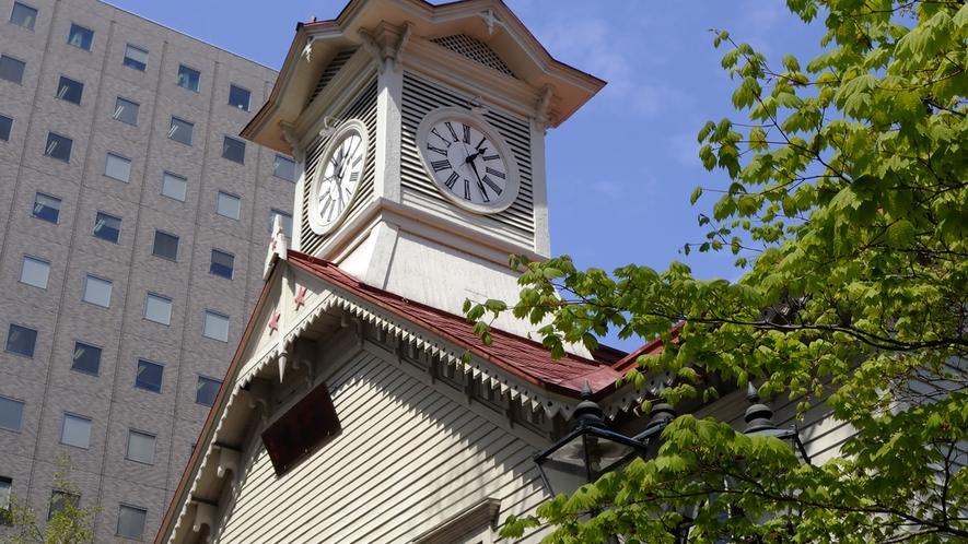 【観光】札幌市時計台