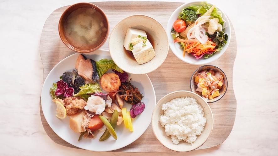 【朝食】1階レストラン(和食)