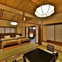 「露天付客室」のお部屋の一例