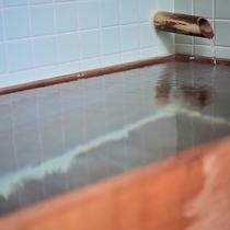 「温泉付和室」の客室温泉の一例