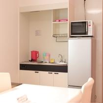お部屋の簡易キッチン