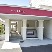*【外観】ホテルへの入り口はこちらです