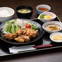 *【定食一例】から揚げ定食/料理長おまかせで定食をご用意します