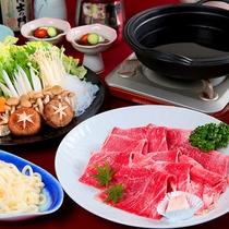 【すき焼き】鹿児島県産和牛をすき焼きで!