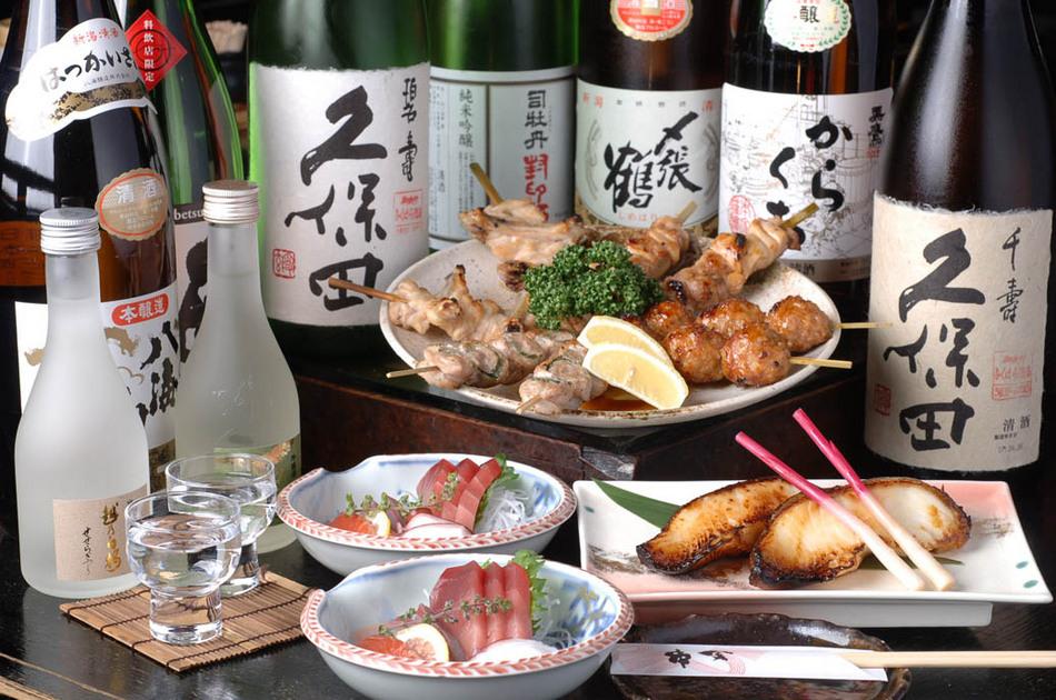 コース料理の一例☆1階『串金』にて - Course dish example
