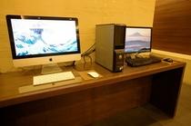 お客様共有パソコン(1階)【無料】 -Visitor share personal computer