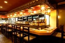 【串金】カウンター - counter of restaurant
