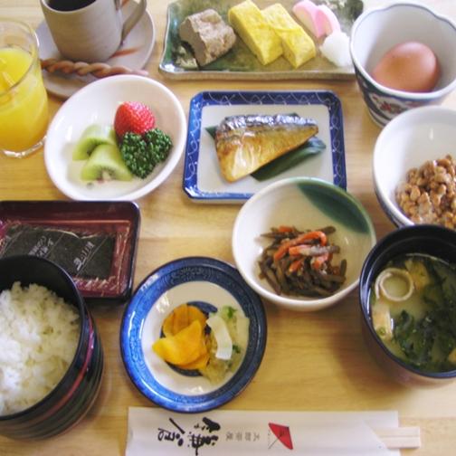 【朝食付き】和食・洋食選べる朝食付きプラン♪