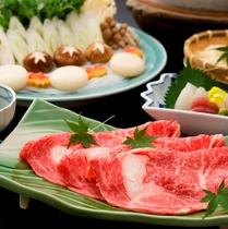 【夕食】京都産牛のしゃぶしゃぶプランもございます♪