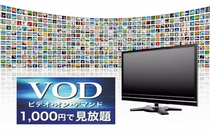 VODシステム全室導入!1,000円で見放題