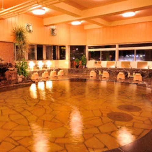 夜の展望台浴場