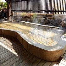 美肌泉質の露天風呂