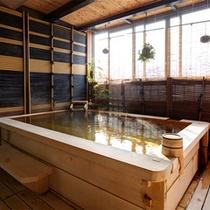 雪の間露天風呂