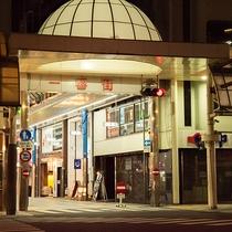 *「一番街」沿い!宮崎の歓楽街「ニシタチ」に隣接しています!夕食なしでも安心です