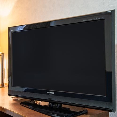 *全てのお部屋にBS液晶テレビを設置しております