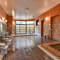 *温泉ゆるり/ビジネスホテルに珍しい大浴場にて足を伸ばしてゆっくりとお寛ぎください