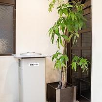 *喫煙部屋以外の場所にて喫煙のお客様は喫煙コーナーをご利用ください