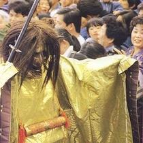 【上野天神祭】 鬼行列