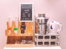 コーヒー/緑茶/焙じ茶(無料)